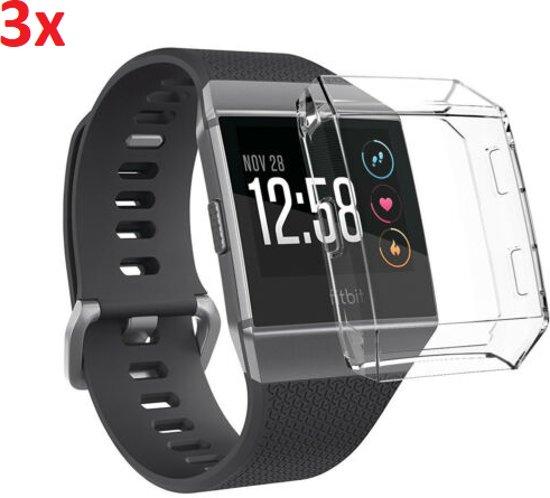 3x Bumper Case Cover Hoes Voor Fitbit Ionic - Beschermkap Beschermhoes