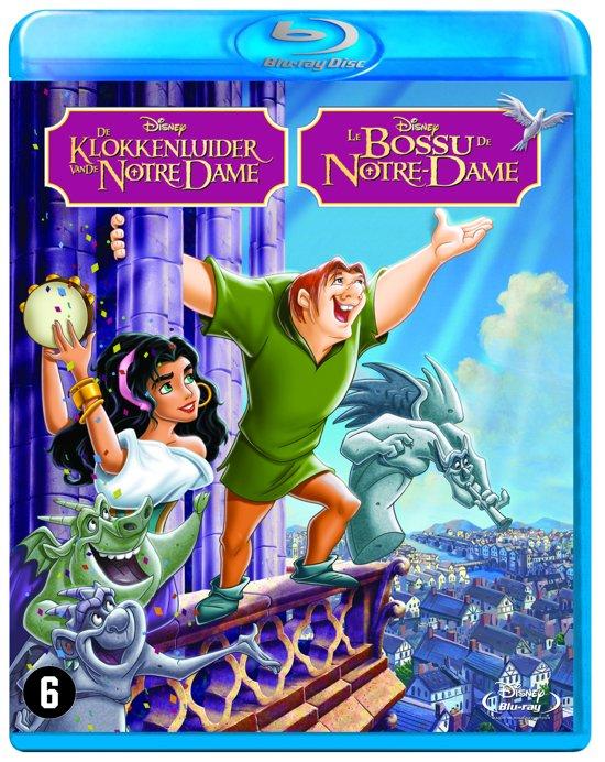 DVD cover van De Klokkenluider Van De Notre Dame (Blu-ray)