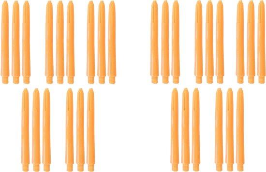 Dragon Darts dart shafts - 10 sets (30 stuks) - Med - oranje - darts shafts