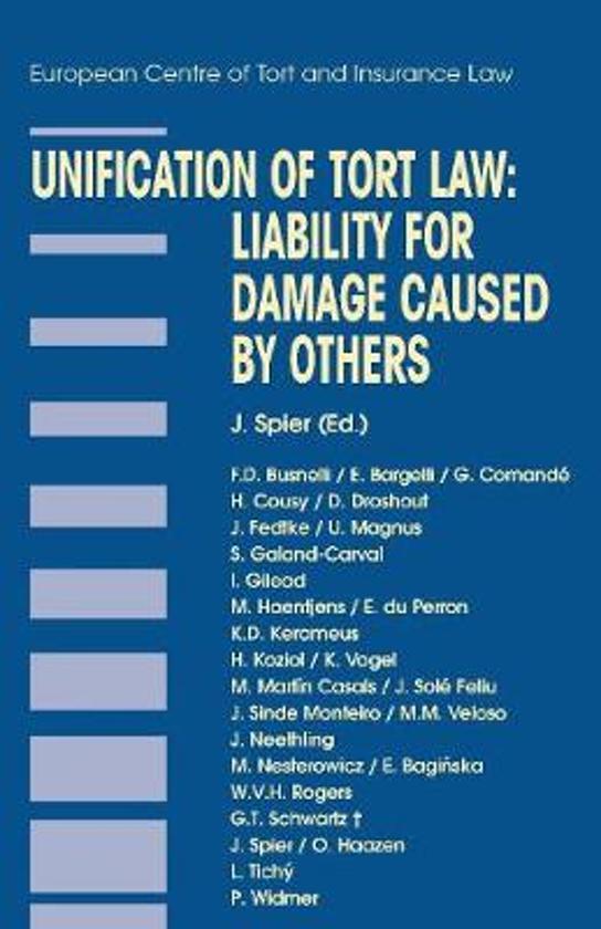 Afbeelding van Unification of Tort Law