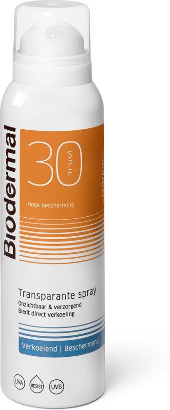 Biodermal Vernev Zonnespray SPF30 - Zonbescherming - 150ml