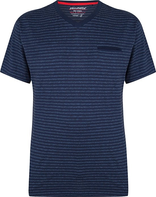 Pastunette For Men Heren Shirt - Blauw - Maat 2XL