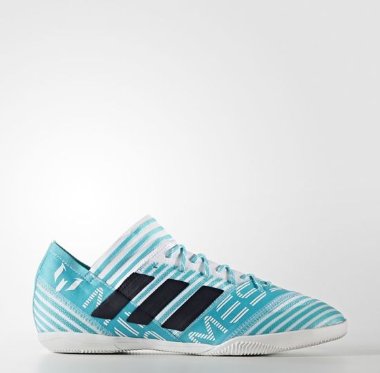 Adidas Nemeziz Tango 17.3 Youth Indoor Soccer Shoes (White