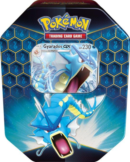 Afbeelding van Pokémon Hidden Fates Tin Gyarados GX  - Pokémon Kaarten speelgoed