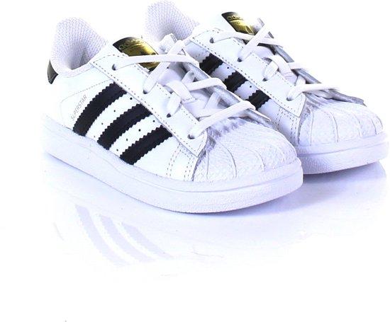 19e6135e2bc bol.com | Adidas Meisjes Sneakers Superstar I - Wit - Maat 21