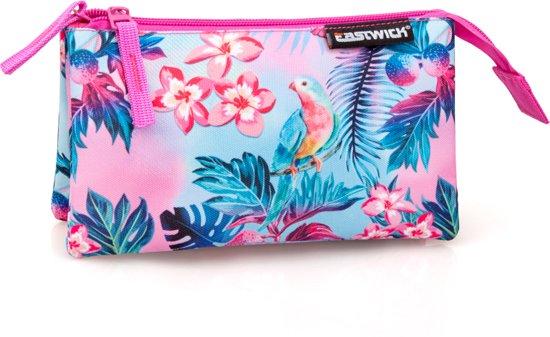 9b29a07b9e5 bol.com | Eastwick - Etui 3 Compartimenten - Flamingo - voor Meisjes ...