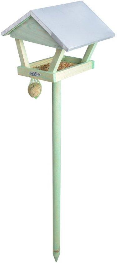 Esschert Design Voedertafel - Vogelvoederhuisje - Bruin - 90 cm x 28 cm x 120 cm