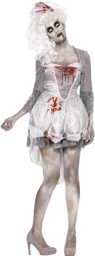 Zombie Georgian Kostuum Grijs