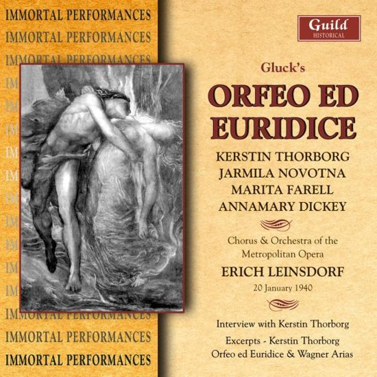 Orfeo Ed Euridice - Gluck - Thorbor