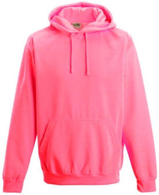 Electric hoodie, Kleur Electric Roze, Maat XL