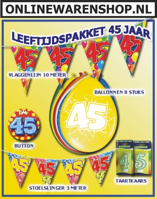 Feestpakket 45 jaar