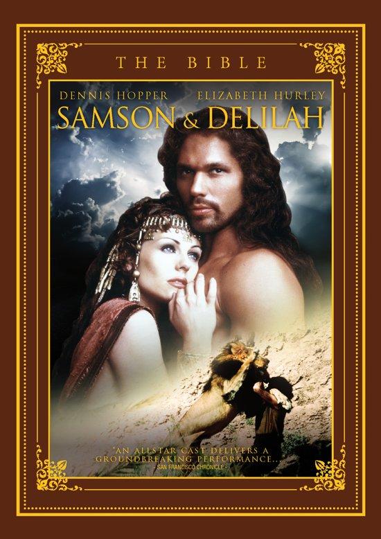 Cover van de film 'De Bijbel - Samson And Delilah'