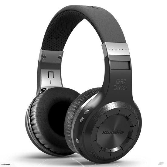 Bluedio HT Bluetooth on-ear koptelefoon - zwart