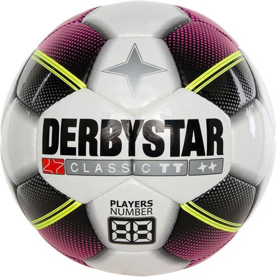 Derbystar VoetbalKinderen - wit/roze/zwart