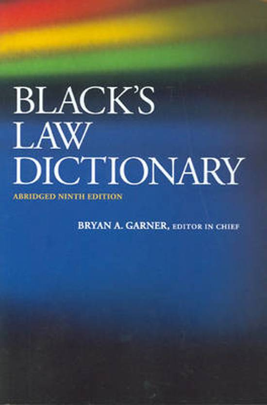 company in black law dictionary