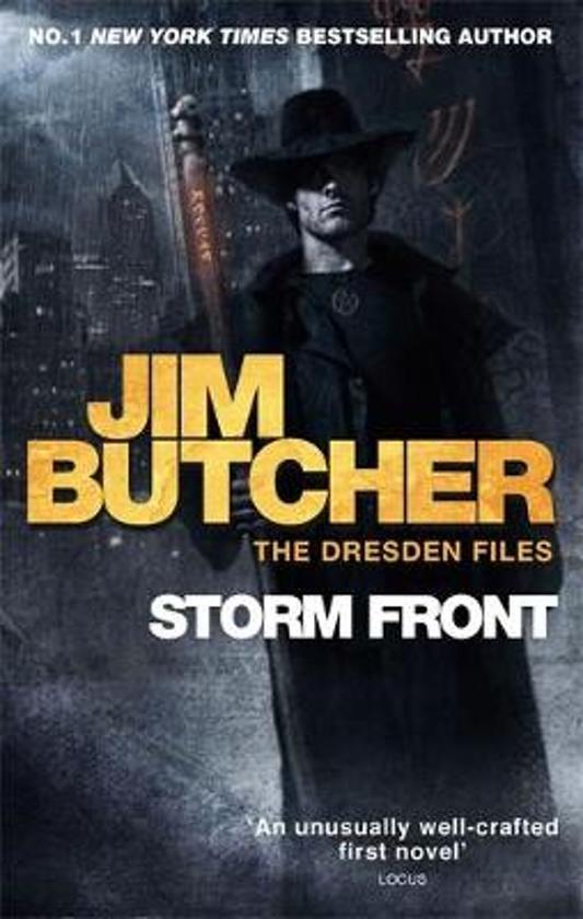 storm front jim butcher 9780356500270 boeken