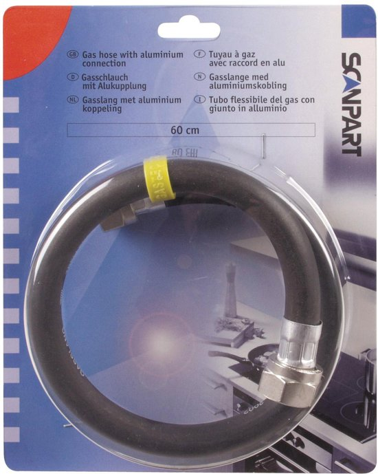 """gasslang 1/2"""" 60cm aluminium(NL)"""