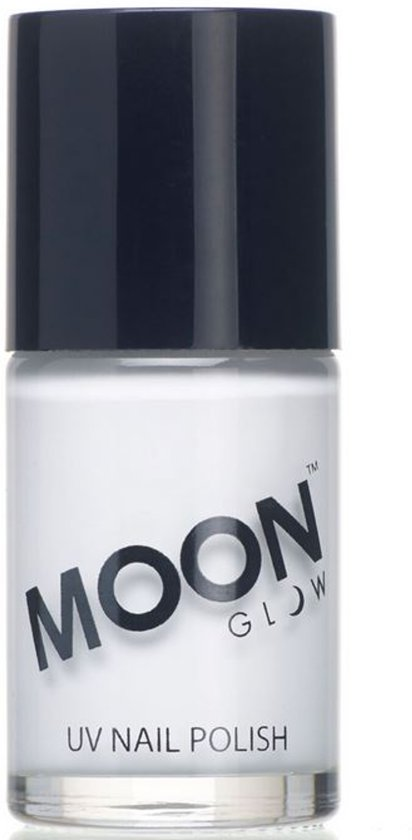 Witte UV Moonglow© nagellak - Schmink