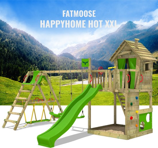 FATMOOSE HappyHome Hot XXL Speeltoestel