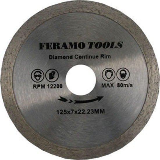 FeramoTools Diamantzaag Tegels & Graniet PRO – 350mm, asgat 25,40mm