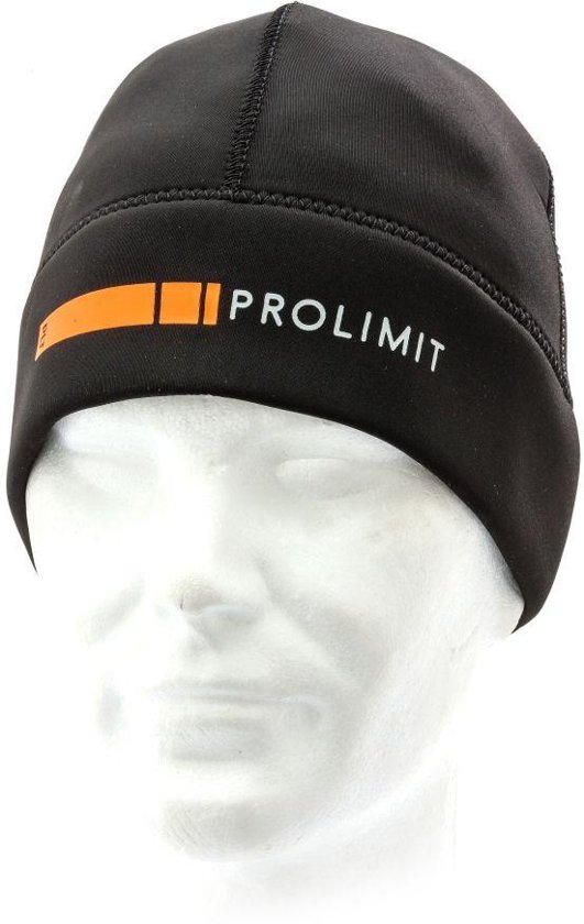 Prolimit Neopreen Beanie DL Zwart/Oranje M