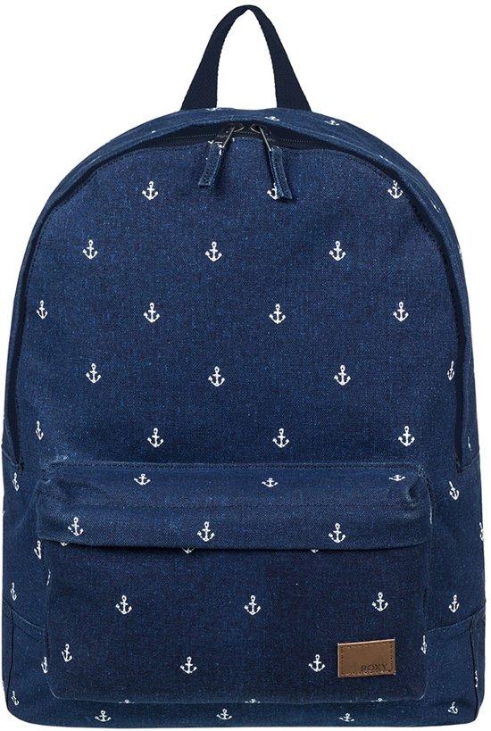 d71dd6b675b bol.com   Roxy Sugar Baby Canvas Backpack Dress Blue Printed Anchor