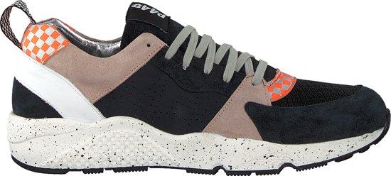 P448 Heren Sneakers Alex - Zwart - Maat 43