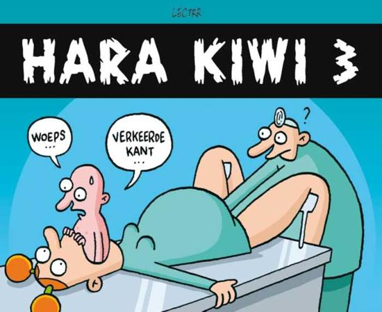 Cover van het boek 'Hara Kiwi / 3' van  Lectrr