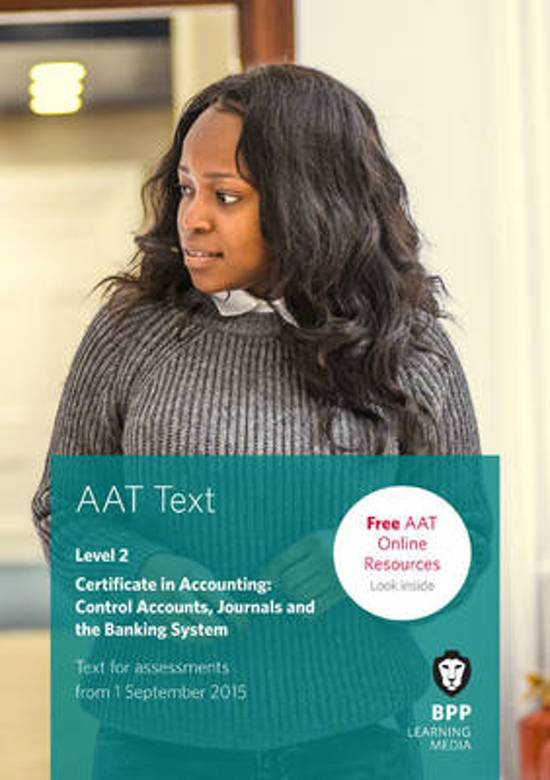 AAT Control Accounts, Journals and the Banking System