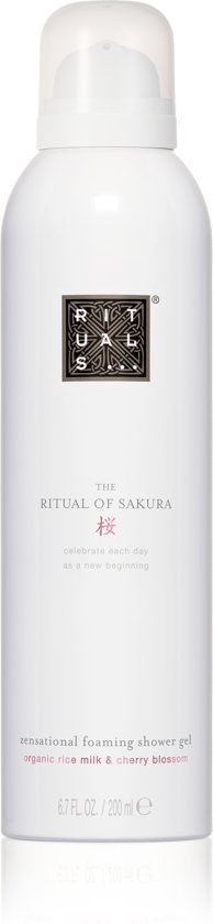Afbeelding van RITUALS The Ritual of Sakura Doucheschuim - 200ml