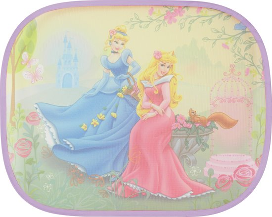 Disney Princess - Zonnescherm 2 Stuks - Roze