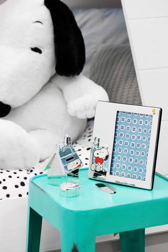 Zilverstad Tanden- en haarlokdoosje Snoopy