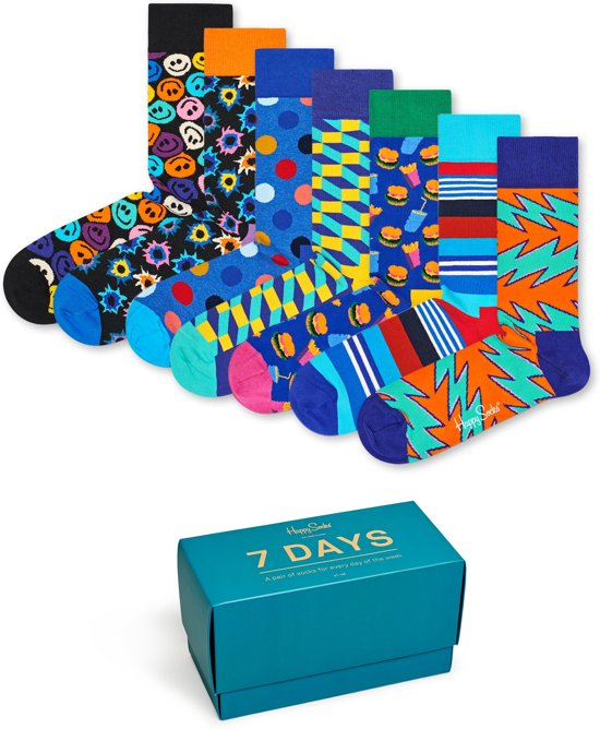 Happy Socks 7 Days Giftbox - Maat 41-46