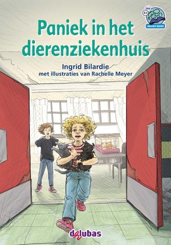 Boek cover Samenleesboeken - Paniek in het dierenziekenhuis van Ingrid Bilardie (Hardcover)