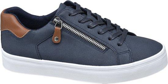Maat Sneaker Sierrits 40 Blauwe Dames Graceland 8nkXNP0Ow