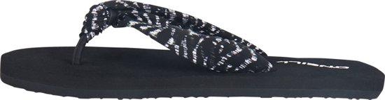 O'Neill Slippers Ditsy sun - Black Aop W/ White - 40