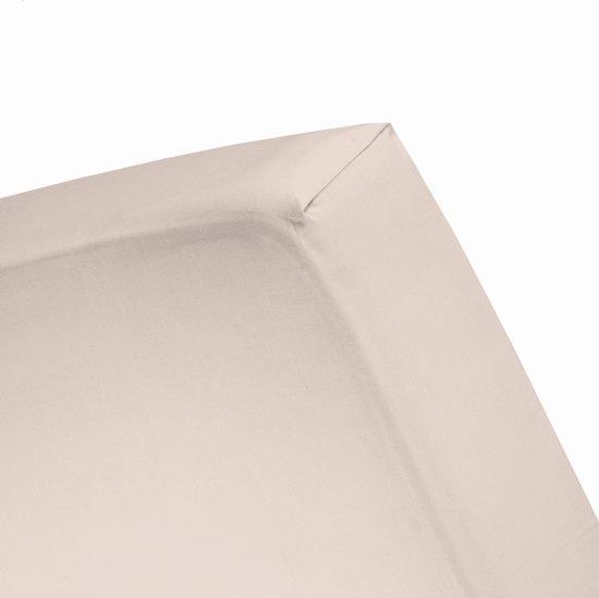 Damai - Hoeslaken (tot 25 cm) - Double Jersey - 180 x 220 - 200 x 200 cm - Dust