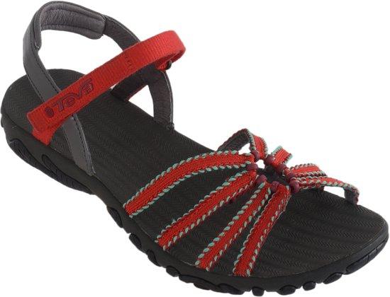 Teva Kayenta Dream Wave Sandalen - Dames - Rood Grijs