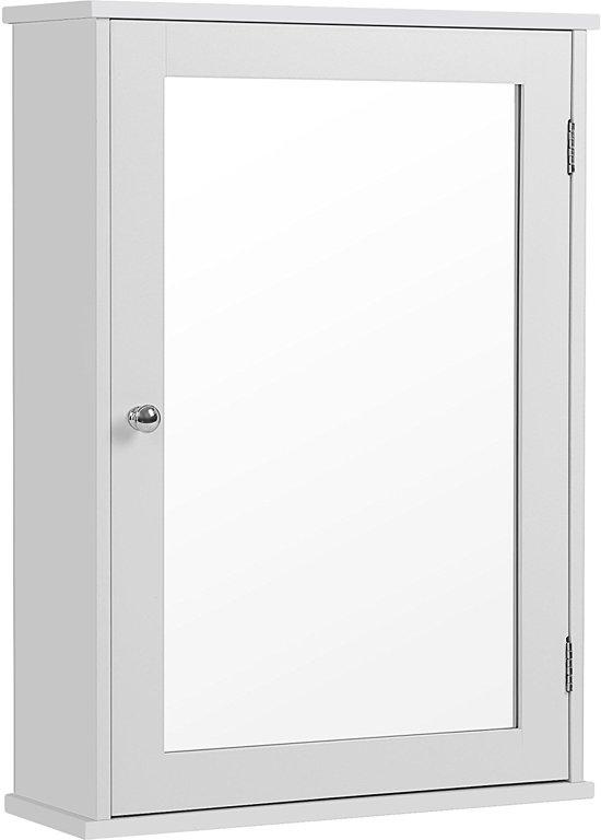 Medicijnkastje Met Spiegel.Medicijnkastje Met Spiegel Wit
