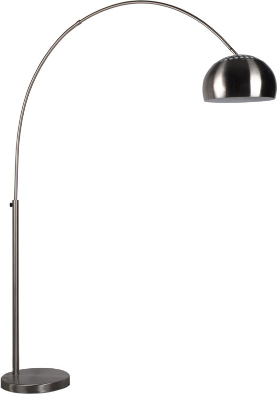 Zuiver Metal Bow - Booglamp - RVS