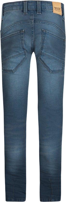 Jongens Jeans - Spijkerbroek Falcon Petrol Coated maat 164