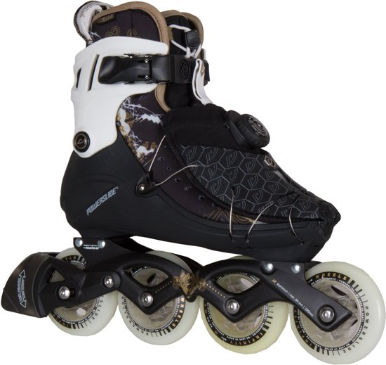 4b635c900a0 Powerslide Vi 84 Pure Inline Skate Dames Inlineskates - Maat 41 - Vrouwen -  zwart/
