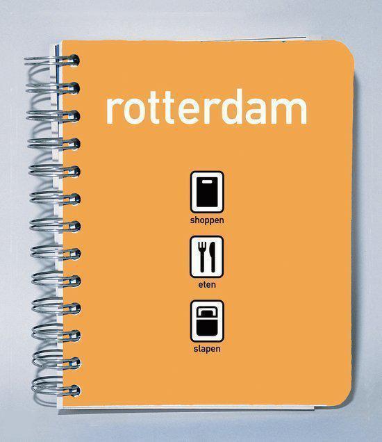 Cover van het boek 'Rotterdam shoppen - eten - slapen'