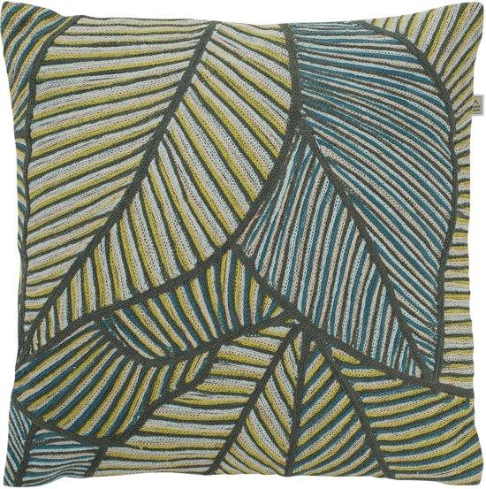 Dutch Decor Ronat - Sierkussen - 45x45 cm - Groen
