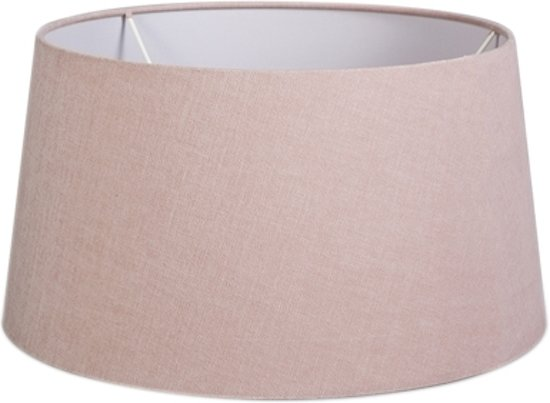 QAZQA  35/30/18 SD - Lampenkap stof - Ø35 cm - Rose