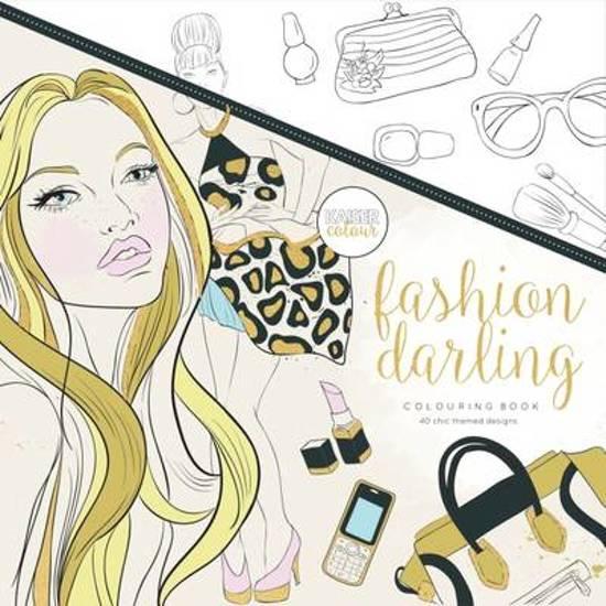 Kleurplaten Voor Volwassenen Handen.Bol Com Kaisercraft Kleurboek Voor Volwassenen Fashion Darling