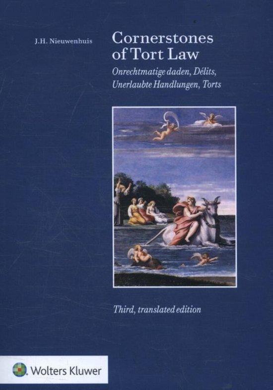 Boek cover Corner Stones of Tort Law van J.H. Nieuwenhuis (Paperback)