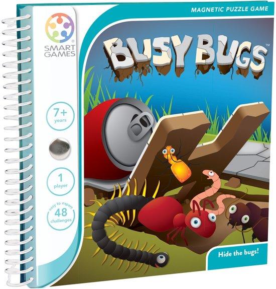 Afbeelding van het spel Smart Games Magnetic Travel BusyBugs - Reiseditie