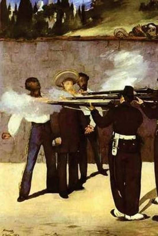 The Execution of the Emperor Maximilian of Mexico by Edouard Manet - 1868