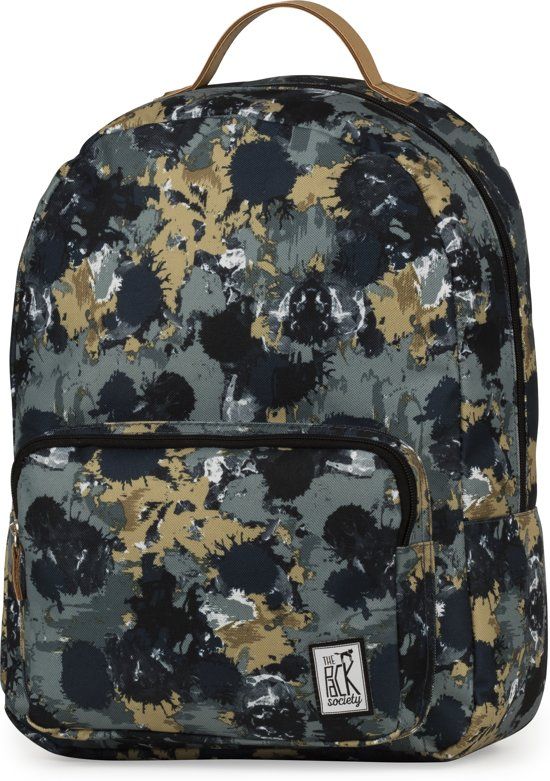b67d0b74124 bol.com | The Pack Society Classic Rugzak - Green Camo Allover